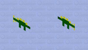 a simple stegosaurus Minecraft Mob Skin