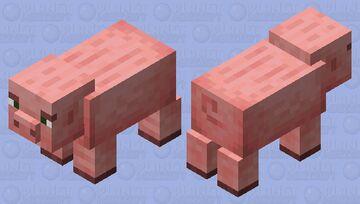 Revamped Pig Minecraft Mob Skin