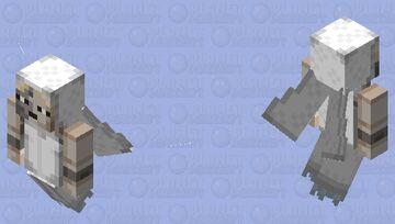 "Very pixelated Creepy Doll ~ Angie ""Beneviento"" ⚔ Minecraft Mob Skin"