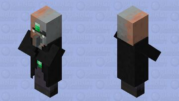 fusion of the village, pillage and dillage / Willager Minecraft Mob Skin