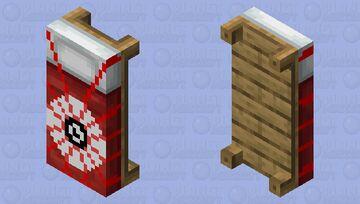 Bloody eye bed Minecraft Mob Skin