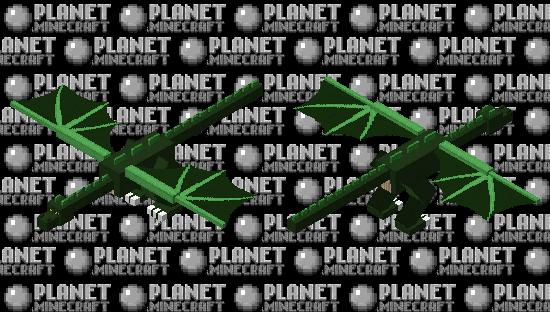 Green Wyvern Minecraft Skin