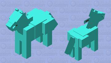 Diamond horse Minecraft Mob Skin