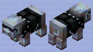 Heavy metal pig Minecraft Mob Skin
