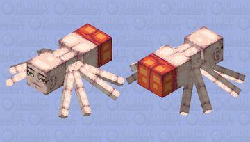 spider man Minecraft Mob Skin