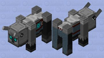 Raphager Colossus (Ravager) Minecraft Mob Skin