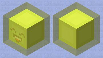 happy sunshine slime Minecraft Mob Skin