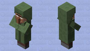Aldeanobrine Minecraft Mob Skin