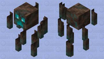 Soul sand creeper blaze Minecraft Mob Skin