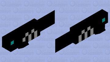 M Black Fish Minecraft Mob Skin