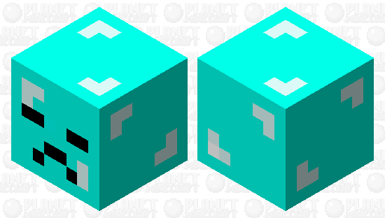 bad diamond Minecraft Skin