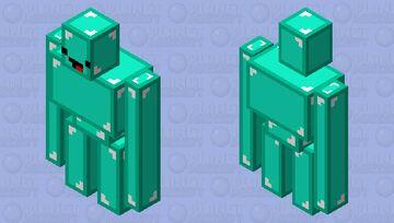 Skeppy iron golem Minecraft Mob Skin