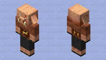 Shadow survivor piglin Minecraft Mob Skin