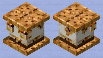 S'more Slime Minecraft Mob Skin