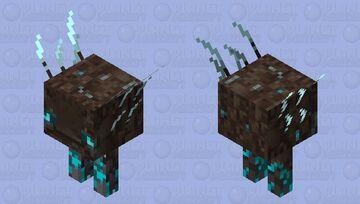 SoulSand Strider (Fixed) (warm) Minecraft Mob Skin