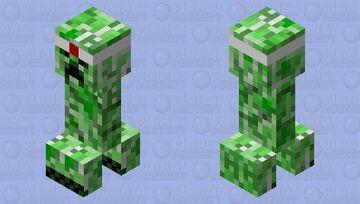 kamikaze creeper Minecraft Mob Skin