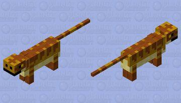 Prehiatoric lizard Minecraft Mob Skin