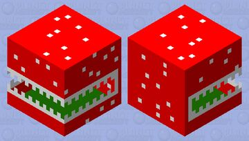 Piranha shulker Minecraft Mob Skin