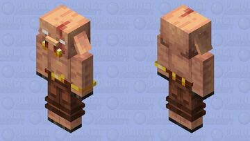 The Piglin Sergey Minecraft Mob Skin