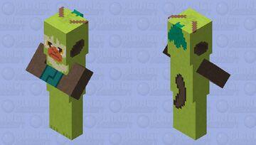 Thwackey - Pokemon Villager Replacer Minecraft Mob Skin