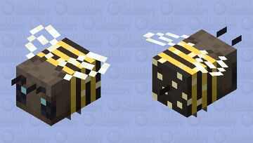 Africanized Bee (Pollinating) Minecraft Mob Skin