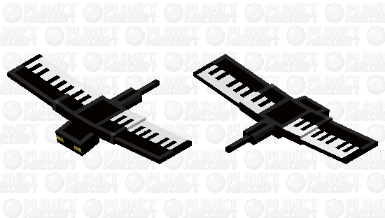 Piano Phantom Minecraft Skin