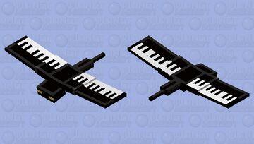 Piano Phantom Minecraft Mob Skin