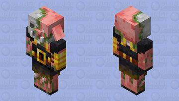 zombie armored piglin (minecraft dungeons) Minecraft Mob Skin