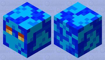 magma cube d'eau Minecraft Mob Skin