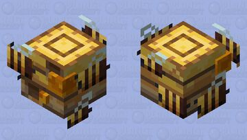 Honeyhive Slime Minecraft Mob Skin