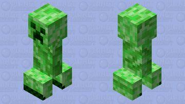Better Creeper Minecraft Mob Skin
