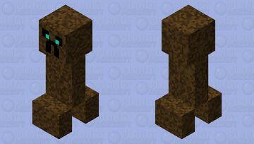 Soul sand creeper Minecraft Mob Skin