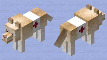 Guide dog Minecraft Mob Skin
