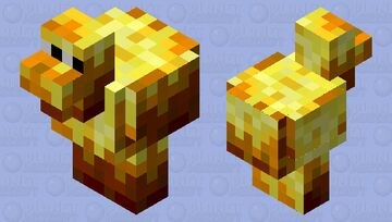 Blacken Minecraft Mob Skin