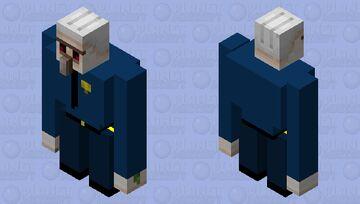 Police Officer Golem Minecraft Mob Skin