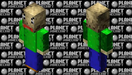 Baldi (1000 submission) Minecraft Skin