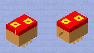 Pineapple Upside-Down Cake Minecraft Mob Skin