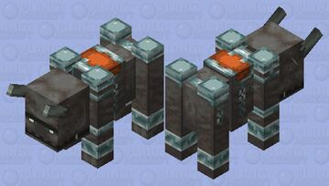 noseless ravager (noseless edition) Minecraft Mob Skin