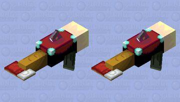 Random Idems Shaped as a Dolphin Minecraft Mob Skin