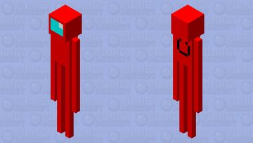 sometimes, that enderman just gives me the sus feelings... Minecraft Mob Skin