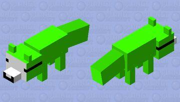 Dream as a fox Minecraft Mob Skin