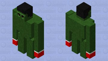 hulk (heroes collection) Minecraft Mob Skin