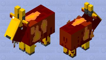 The nether goat Minecraft Mob Skin