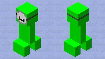 Dream creeper *fixed* Minecraft Mob Skin