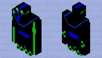 Hi-tech golem Minecraft Mob Skin