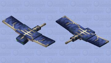 The Phantom But this looks like The Monster Of The Night Sky Minecraft Mob Skin