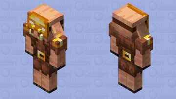 The Piglin Armorer Minecraft Mob Skin
