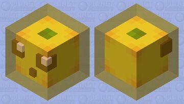 ~+  🍋lemon slime🍋  +~ Minecraft Mob Skin