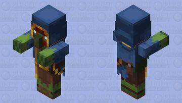 Zombie Wandering Trader Minecraft Mob Skin