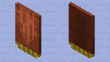 Cape for Windcaller / V.1 / for Minecraft Dungeons Minecraft Mob Skin